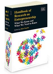 Handbook of Research on Entrepreneurship: What we know and what we need to know - edited by Alain Fayolle - July 2014 (Elgar original reference)