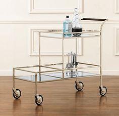 Gable Bar Cart