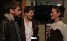 The 2013 Album of the Year winners, Mumford & Sons talk to Fuse about the win and more!