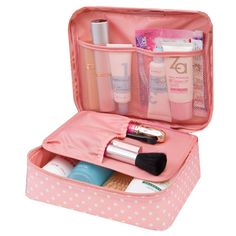 Femmes Voyage Kit Organisateur de Toilette Cosmétique Sacs Voyager Main sacs Zipper Mini Lavage Sac Maquillage Organisateur Sac