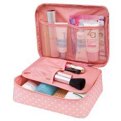 Women Travel Kit Organizer Toiletry Cosmetic Bags Traveling Hand bags Zipper Mini Wash Bag Makeup Organizer Bag
