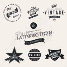 Vector Vintage Styled Premium Quality