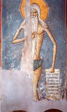 Fresco By Manuel Panselin. Karyes, Monastic Republic of Mount Athos. Byzantine Icons, Byzantine Art, Tempera, Fresco, Best Icons, Orthodox Icons, Mural Painting, Sacred Art, Christian Art