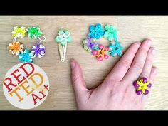 Loom Bands Flower Ri
