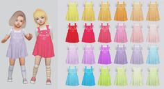 Toddler Fox Dress for The Sims 4 The Sims 4 Pc, Sims 4 Mm Cc, Sims 4 Cas, My Sims, Sims 4 Toddler Clothes, Sims 4 Cc Kids Clothing, Toddler Stuff, Sims 4 Children, Sims 4 Gameplay