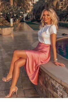 Summer Outfit For Teen Girls, Summer Outfits Women Over 40, Casual Summer Outfits, Spring Outfits, Trendy Outfits, Summer Date Night Outfit, Summer Fashion Outfits, Summer Evening Outfits, Holiday Outfits