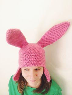 DIY Louise Belcher Crochet Hat | Geek CraftsGeek Crafts