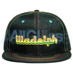 e504f7704ab Grassroots Clothing x Illadelph Glass Limited Edition Rasta Fitted Hat