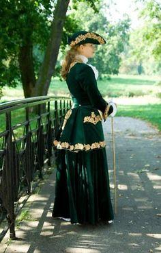 Tailor's - Lenka, Ridding dress, part 2