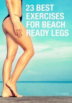 23 leg toning exercises that will give you beautifully lean, toned legs. Pin now, check later.