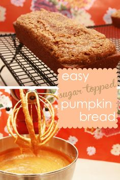 Easy Pumpkin Bread Recipe - want to make this but add in mini chocolate chips !!