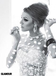 White Polka Dot Glamour :)