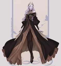 Fantasy Character Design, Character Creation, Character Design Inspiration, Character Art, Fantasy Gowns, Fantasy Art, Fantasy Outfits, Fantasy Clothes, Fantasy Places