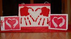 Another handprint | http://craftsandcreationsideas74.blogspot.com