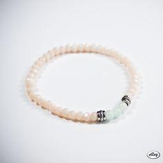 Kryształki i jadeity – mini  #elley #bransoletka #bizuteria #jewellery #jadeit #krysztalki