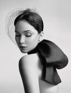 Jennifer Lawrence. Miss Dior Campaign.