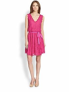 Diane von Furstenberg Luella Lace Dress
