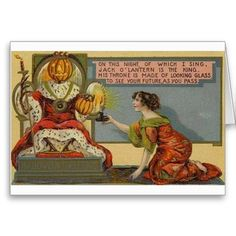 Vintage Halloween Cards | Vintage Halloween Greeting Cards Classic Posters - Zazzle.com.au