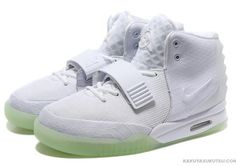 """fe1fa5d3311c1 新 作 ナイキ Nike Air Yeezy 2 エアイージー 2 カニエ ウェスト ライト """"All White"""