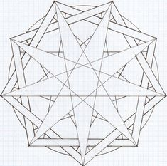 9 Sided Star | Sided Star, Gram and Circle by ~CookieMonsterNick on deviantART