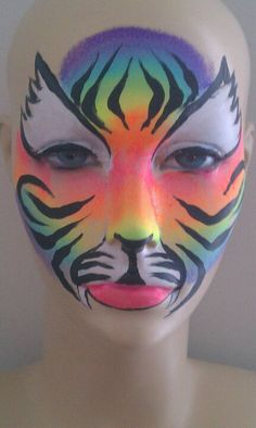 Rainbow Tiger by Tammy Cumberledge-Mcclure