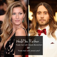 Pin for Later: And Now For Would You Rather? Celebrity Edition