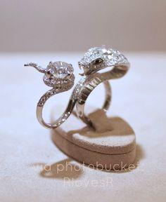 Cobra diamond ring  by Stephen Webster