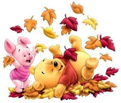 It's Autumn in the 100 Acre Woods