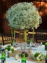green and white wedding flowers - Google Search