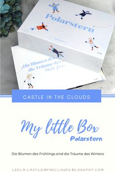 Winterliche Accessoires & Beautyprodukte in der neuen My little Box! #unboxing #beautybox #mylittlebox Beauty Box, Little Box, Beauty Review, Tricks, German, Make Up, Castle, Boxes, Clouds