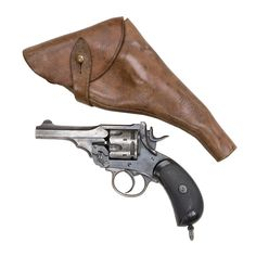 Webley Mark IV revolver by Webley & Scott Revolver & Small Arms Co. Webley Revolver, Hanuman Wallpaper, Hunting Guns, Military Equipment, Guns And Ammo, Dieselpunk, Shotgun, Cannon, Firearms