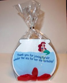 Little Mermaid Birthday Party Bag idea