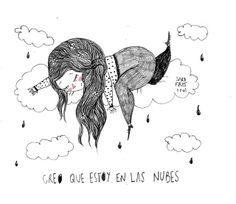 Creo que estoy en las nubes - Sara Fratini