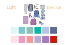 that work together – you won't end up with a mish mash of colours that means you can't pull an outfit together