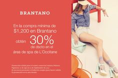 Con sus compras de Brantano Antara, también les consentirán en L'Occitane.