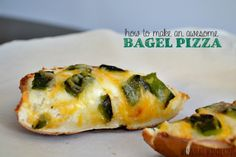 How to Make an Awesome Bagel Pizza - winstead wandering