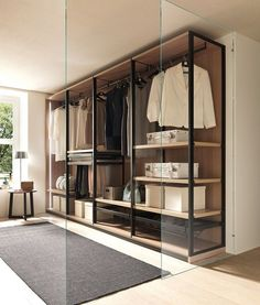 35 Best Walk in Closet Ideas and Picture Your Master Bedroom Looking for some fresh ideas to remodel your closet? Visit our gallery of leading best walk in closet design ideas and pictures. Bedroom Wardrobe, Wardrobe Design, Wardrobe Closet, Closet Bedroom, Master Bedroom, Wardrobe Storage, Diy Bedroom, Walk In Closet Design, Closet Designs
