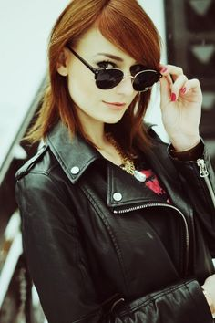Mademoiselle Kate Rocks Round Clubmaster Sunglasses #roundsunglasses #vintagesunglasses $16