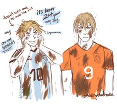 Netherlands, Argentina, Axis Powers Hetalia, FIFA