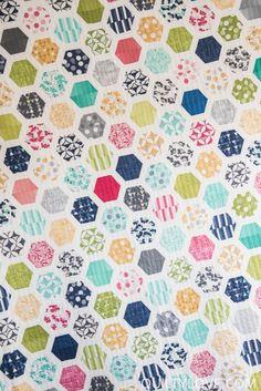 Framed Hexagons. quiltylove_EmilyDennis-8976