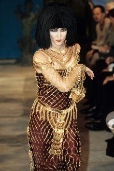 Egyptian Fashion, Egyptian Beauty, Egyptian Women, John Galliano, Galliano Dior, Punk Fashion, Fashion Beauty, Fashion Show, Fashion Design