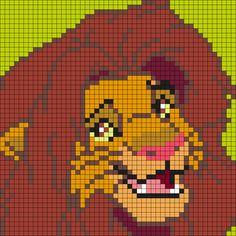 Kandi Patterns for Kandi Cuffs - Characters Pony Bead Patterns Disney Cross Stitch Patterns, Pony Bead Patterns, Kandi Patterns, Perler Patterns, Beading Patterns, Perler Beads, Perler Bead Art, Graph Crochet, Pixel Crochet