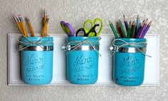 upcycled desk organizer - Google Search