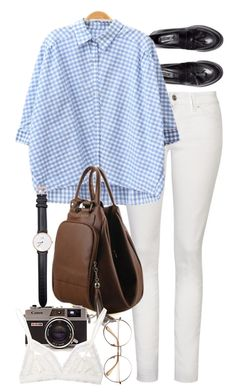 """""""YoyoMelody 1"""" by nikka-phillips ❤ liked on Polyvore featuring H&M, Yves Saint Laurent, Daniel Wellington, Hanky Panky and yoyomelody"""