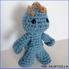 Free Machop Pokemon Amigurumi Pattern from The Craftzilla