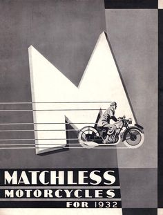 Blog — Oil&Ink A vintage Matchless London poster from 1932
