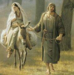 Imágenes de la Virgen María Embarazada de Jesús (3)