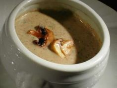 Velouté with mushrooms from paris - Trend Appetizer Fine Dining 2019 Broccoli Soup Recipes, Cream Of Broccoli Soup, Food Blogs, Food Videos, My Favorite Food, Favorite Recipes, Camping Breakfast, Yummy Food, Tasty