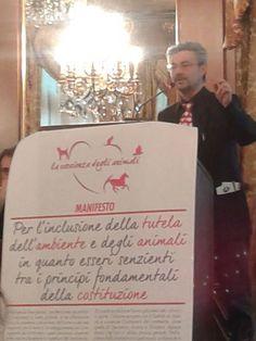 """""""Animali e Ambiente: dal cuore alla Costituzione"""" la proposta di Gaia per inserire gli animali nella costituzione italiana."""