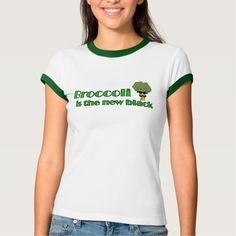 Broccoli - Funny Vegan T Shirt - Cute cartoon broccoli with funny quote makes a cute vegan, vegetarian, food humor, health food, cooking tshirt.  Funny weight loss, diet, dieting tee for someone who loves their healthy vegetables.   Eat your vegetables. This is an affiliate link. #funnyfoodtees
